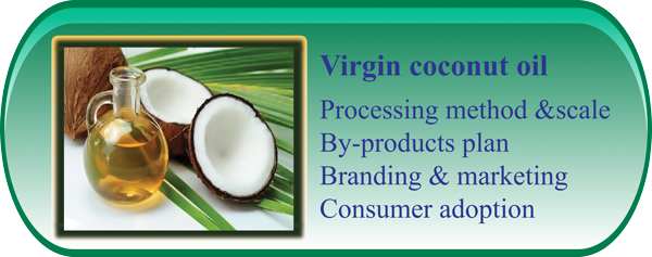 PRODUCTION OF COCONUT FLOUR AND VIRGIN COCONUT